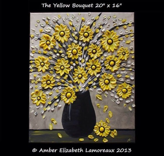The Yellow Bouquet by Amber Elizabeth Lamoreaux