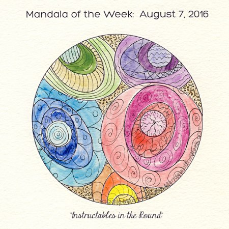 Instructables in the Round Mandala by Maureen Frank