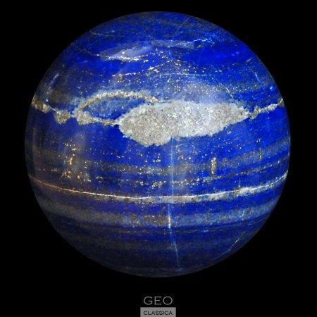 Lapis Lazuli Sphere - photo by Geo Glassica