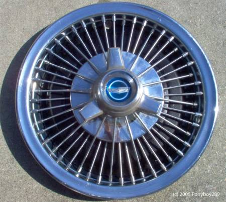 Ford Galaxie Hubcap - photo by Ponyboy289