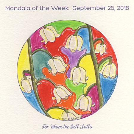 For Whom the Bell Tolls in Color by Maureen Frank (me)