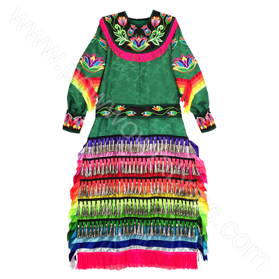 Pow Wow Jingle Dress by PowwowFabrics.com