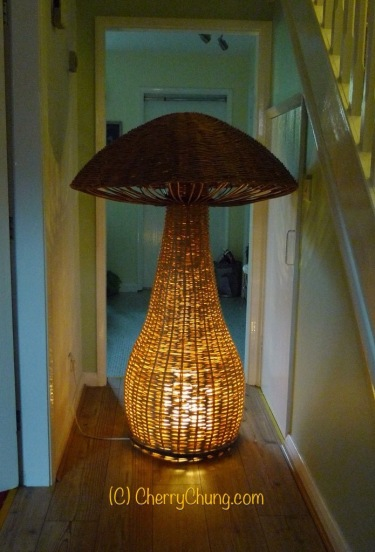 Mushroom Lamp by Cherry Chung