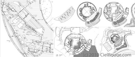 Plans: Villa Bioclimatic Round Home by Ciel Rouge