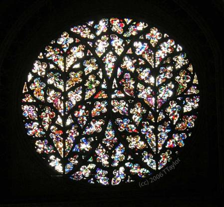 Lincoln Cathedral Bishop's Eye - photo by TTaylor