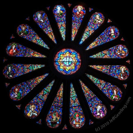 Saint Cecilia's Rose Window - photo by Jeff Geerling