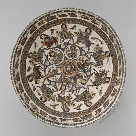 Islamic Bowl - source: Metropolitan Museum of Art - NY