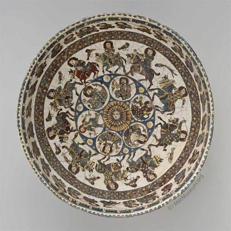Islamic Bowl - source: Metropolitan Museum of Art - NY