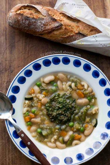 Soupe au Pistou by David Lebovitz