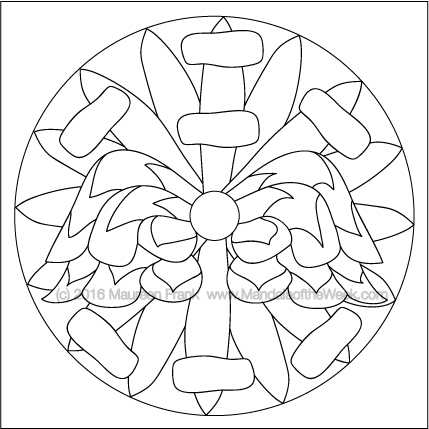 Tis the Season for Ornaments Mandala by Maureen Frank (me)
