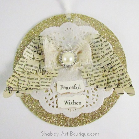 Paper Angel Wings by Shabby Art Boutique