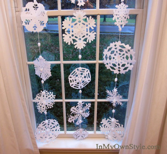 Paper Snowflakes by InMyOwnStyle.com