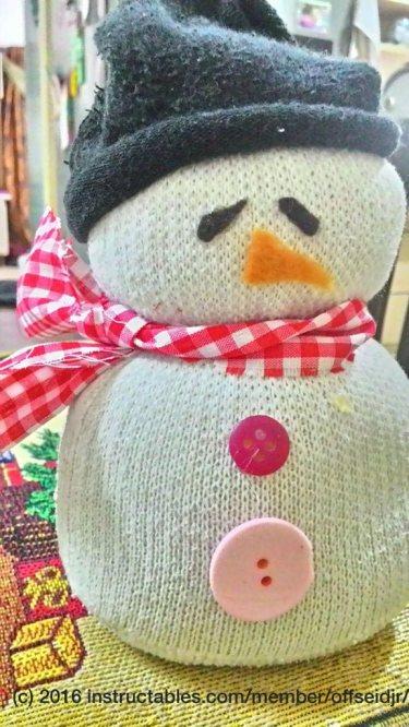 Sock Snowman by offseidjr
