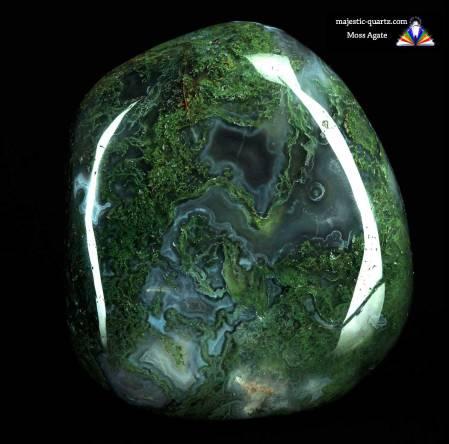 Moss Agate - Majestic-Quartz.com