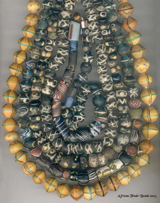 Vintage African Trade Beads - source: AfricanTradeBeads.com