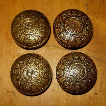 Antique Egyptian Motif Door Knob by Nashua