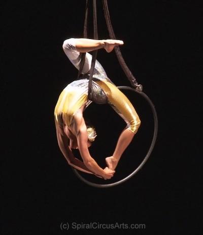 Aerial Hoop by Spiral Circus Arts