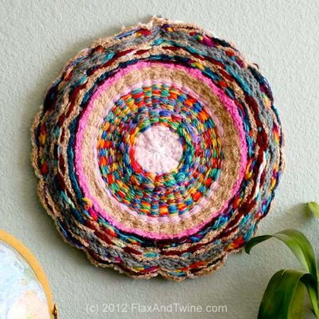 DIY Hoop Run by FlaxAndTwine.com
