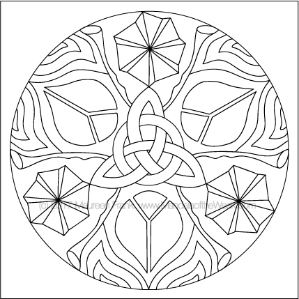 Instagram Mandala to Color by me (Maureen Frank)