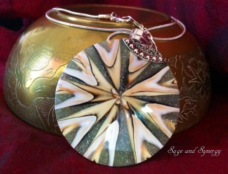 Shell Pendant by Sage and Synergy