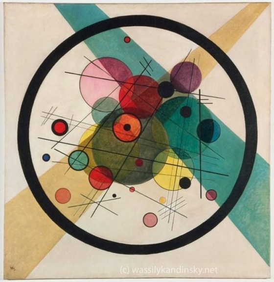 Circles in a Circle - source: WassilyKandinsky.net