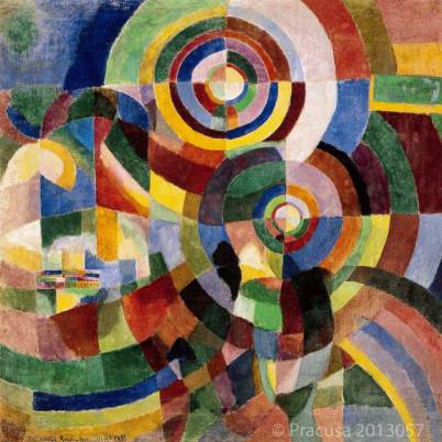 Prismes electriques 1914 by Sonia Delaunay - source: Tate.org.uk