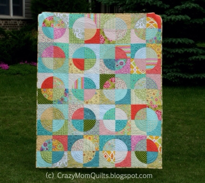 Running in Circles Quilt by Crazy Mom Quilts