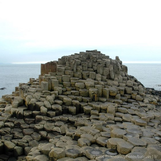 Giant Causeway in Northern Ireland - source: Cavin
