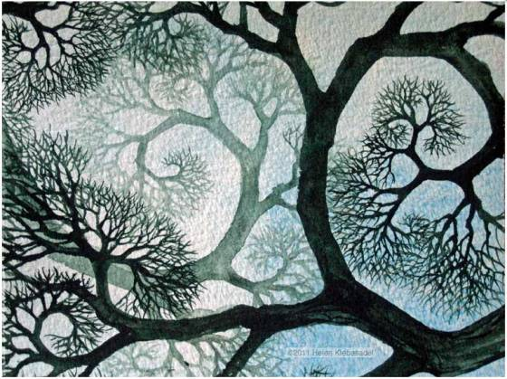 Spiraling Branches Too by Helen R. Klebesadel