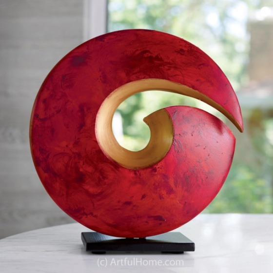 Spiral Sculpture by Cheryl Williams