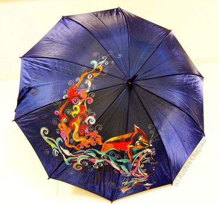 Fox Umbrella by Aushra Chapska