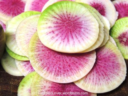 Watermelon Radish - source: FabFoodLover.wordpress.com