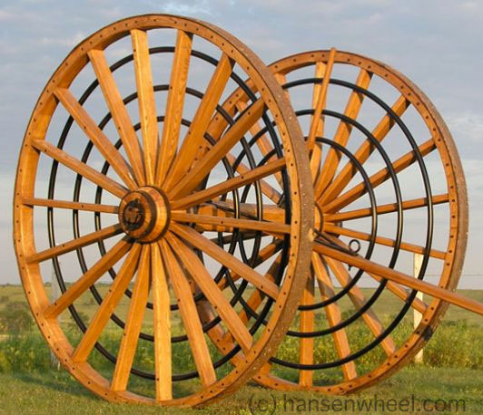 Custom Wagon Wheels by HansenWheel.com