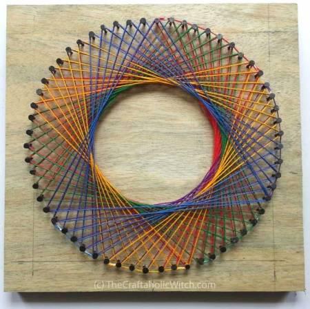 Spirograph Yarn Art by Muhaiminah Faiz
