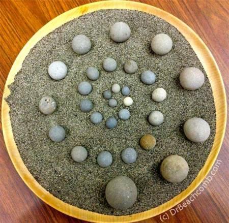 Zen Stone Spiral by Dr. Beachcomb