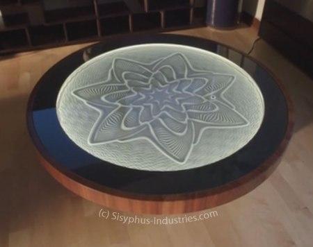 Sisyphus Kinetic Art Table by Sisyphus Industries