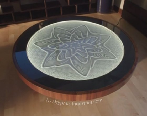 Sisyphus Kinetic Art Table by Sisyphus Industries