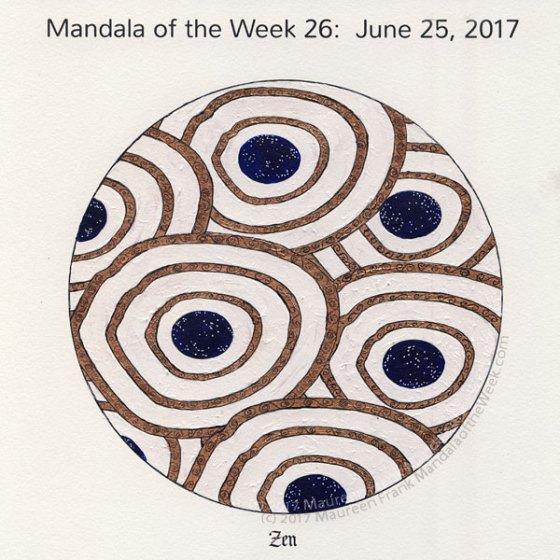 Zen Mandala in Color by me (Maureen Frank)