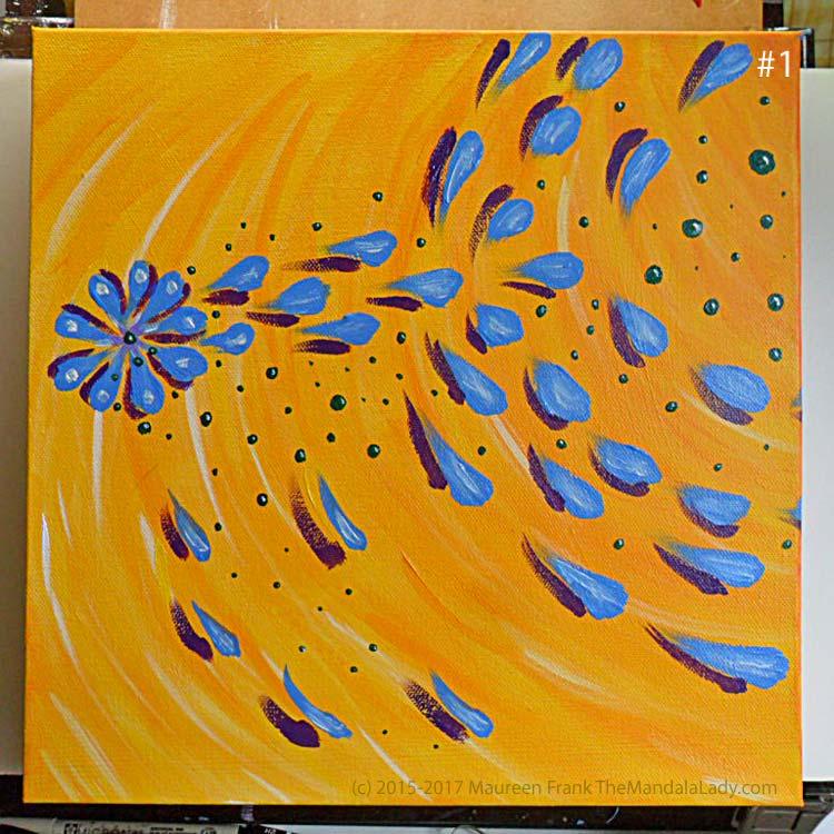 Abstract Mandala #2: 1 -before
