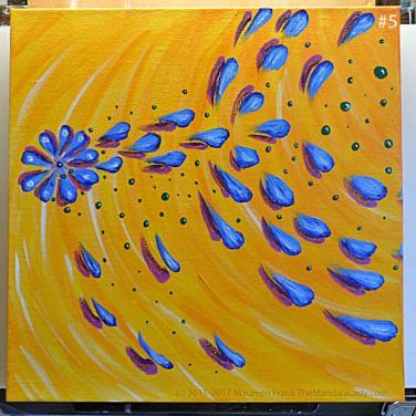 Abstract Mandala #2: 5 - After