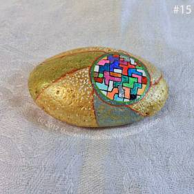 Remarkable: 15 - completed stone: top view