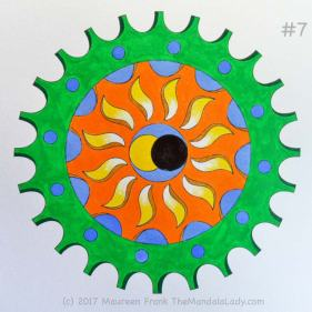 The Eclipse Version 2: 7 - paint the green outer gear wheel