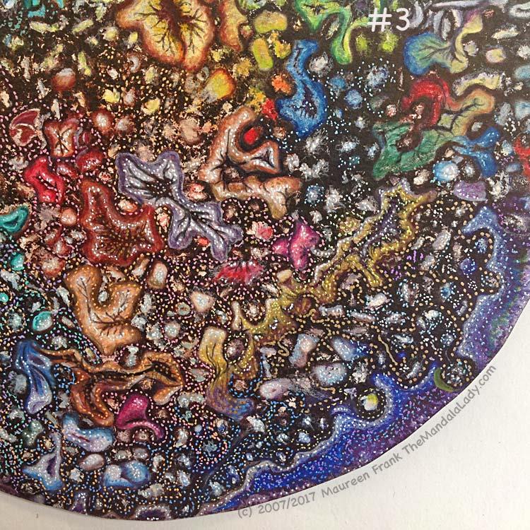 TATSH 2: 3 - add more gel pen details in a variety of colors