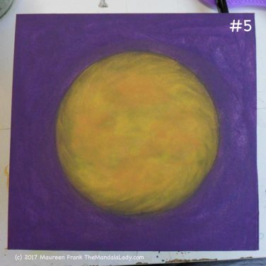 Yellow/Purple Day 1: 5 - more clean up, smoothing, and softening