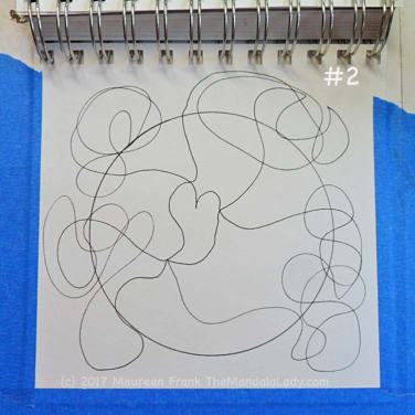 FCG: 2 - doodle out mandala designFCG: 2 - doodle out mandala design