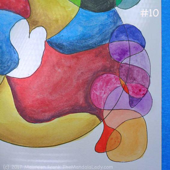 FCG: 10 - add varying shades of yellow orange, orange, and purples