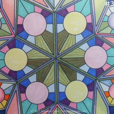 Soulscape Day 5: 3 - green & copper lines in center sections