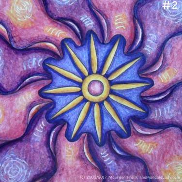 "Primrose #2 Day 3: 2 - add darker shadows to yellow ""petals"""