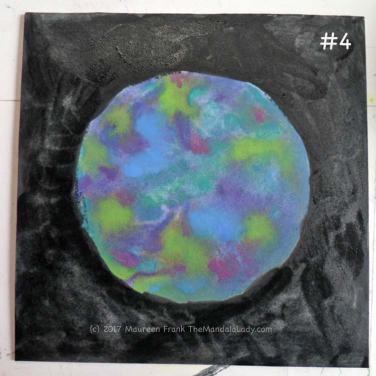 Cosmic Spirals: 4 - finish adding water