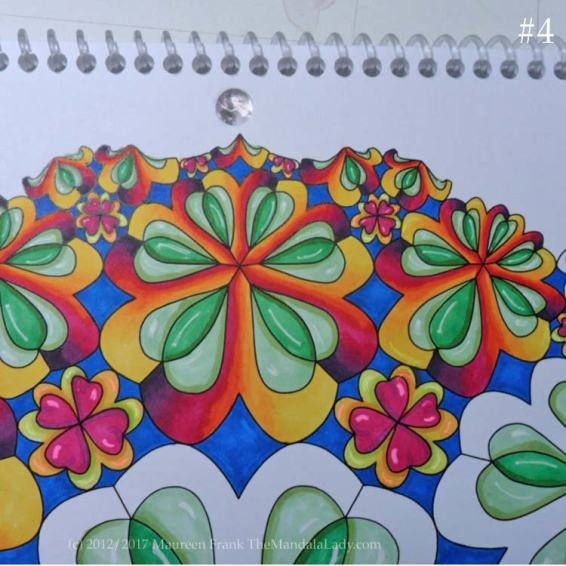 Sign of Aries - Day 4: 4 - continue coloring all 114 Aries symbols
